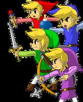 Unite, Four Swords by faren916
