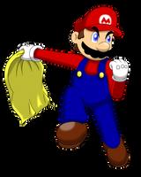 Mario Cape by faren916