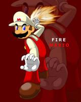 Fire Mario by faren916