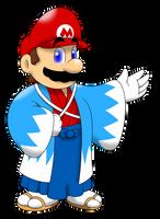 Mario in kimono by faren916