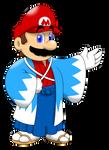 Mario in kimono