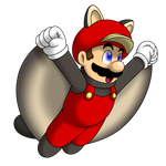 Flying Squirrel Mario