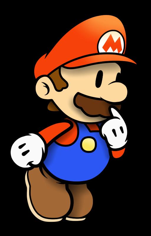 'Paper' Mario by faren916