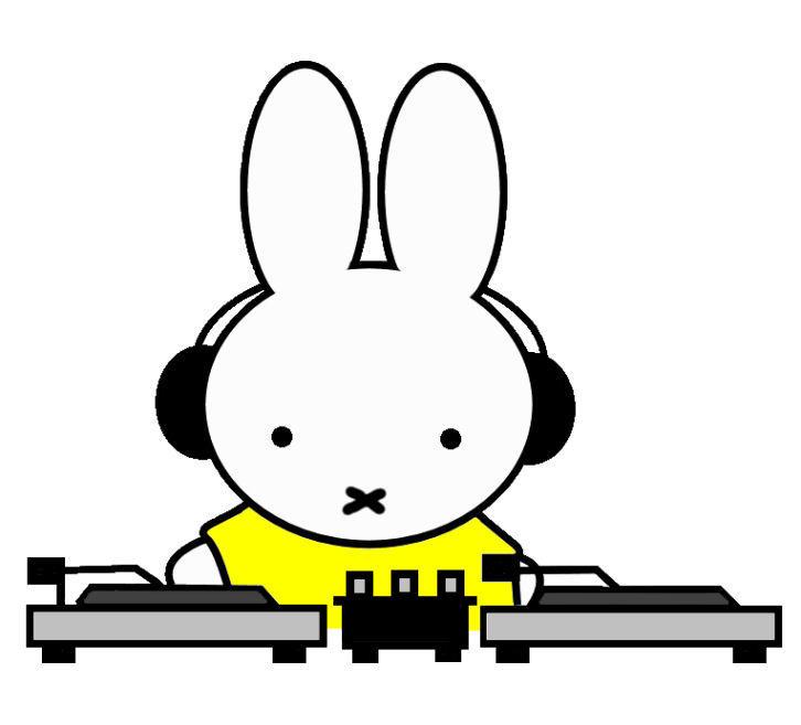 DJのミッフィー