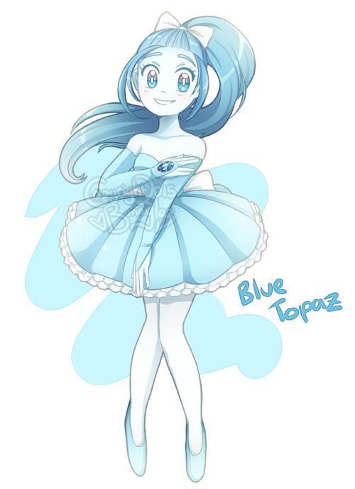 Gemsona: Blue Topaz by Bunnyloz