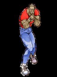Street Fighter: Mike artwork remake