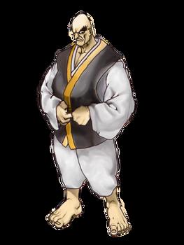 Street Fighter: Retsu artwork remake