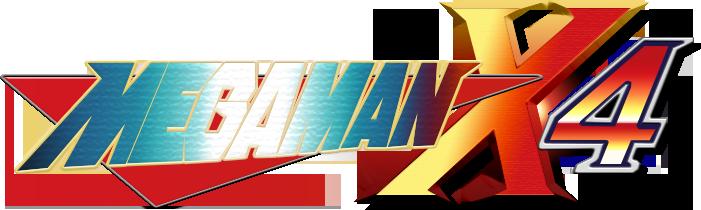 Megaman X4- Logo Attempt