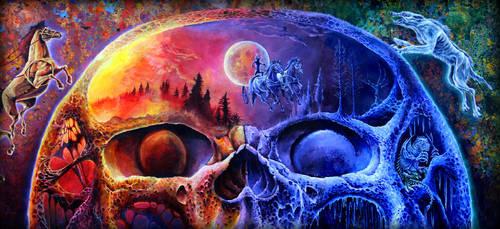 Ymir's skull by dirkrobertsonart