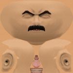 Borat_Head Skin