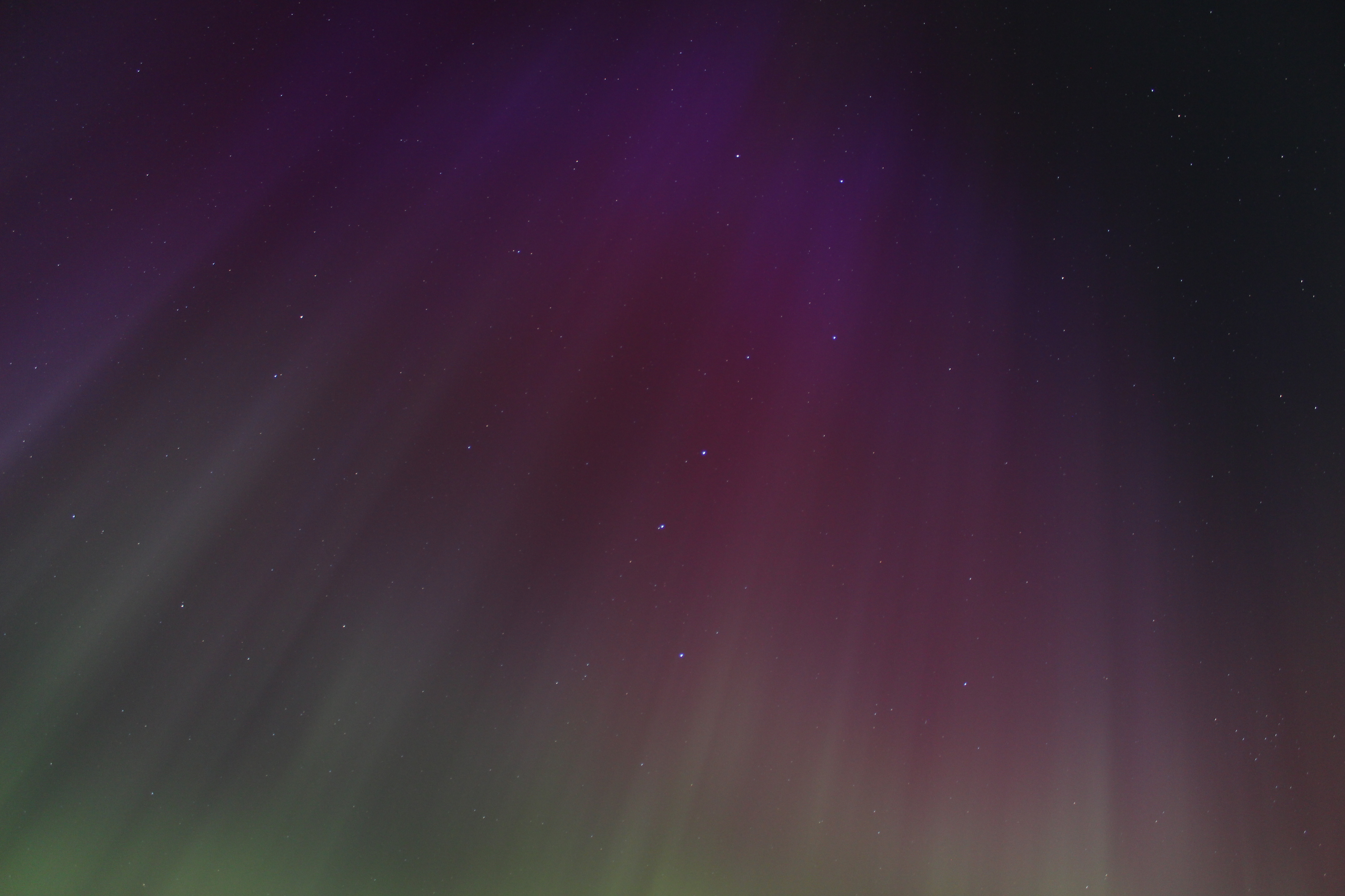 Aurora and the big dipper by Antza2