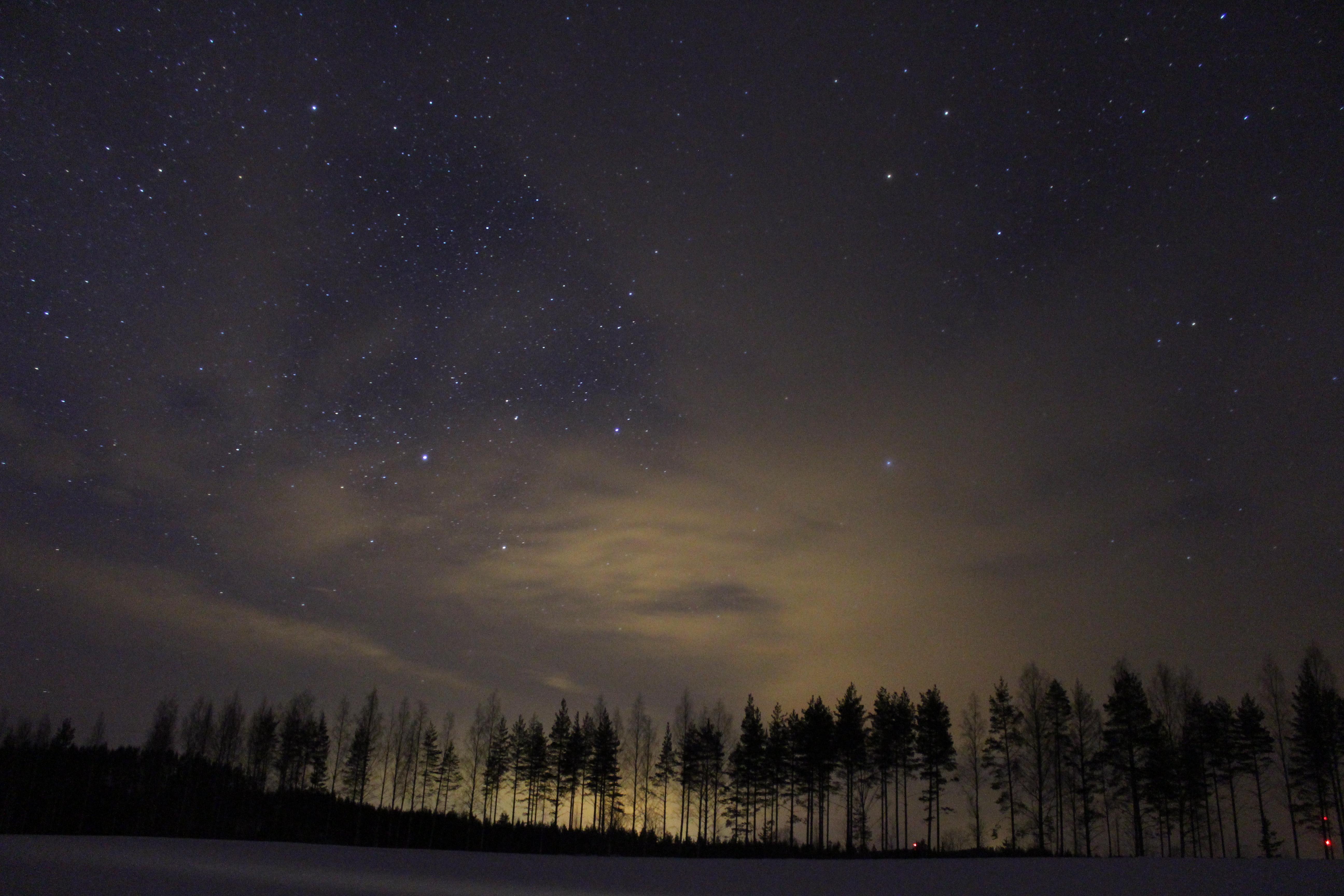 Night Sky And Light Pollution By Antza2 On DeviantArt