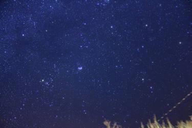 Galaxy and Pleiades by Antza2