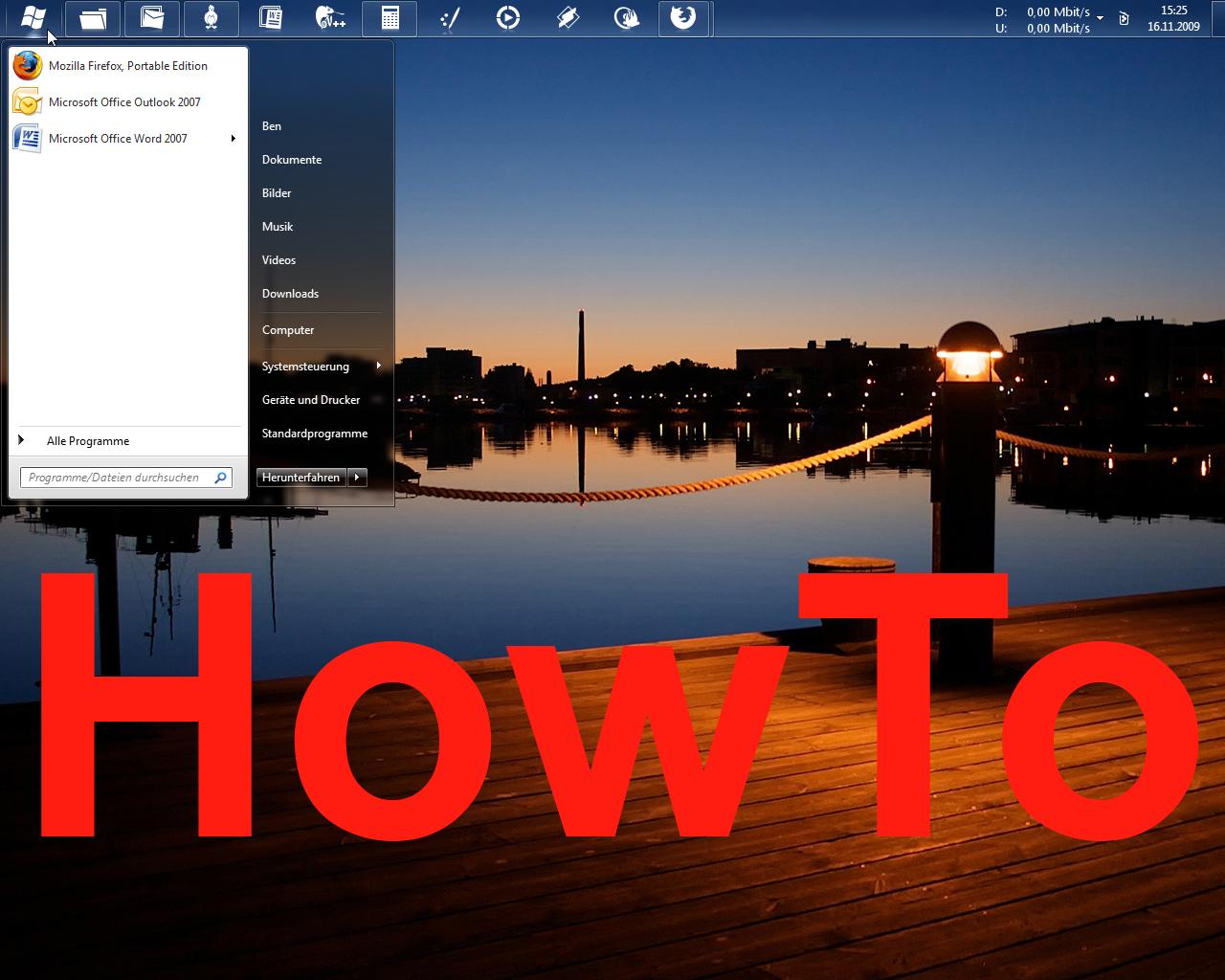 Windows 7 Start Button nopatch by big-ben191