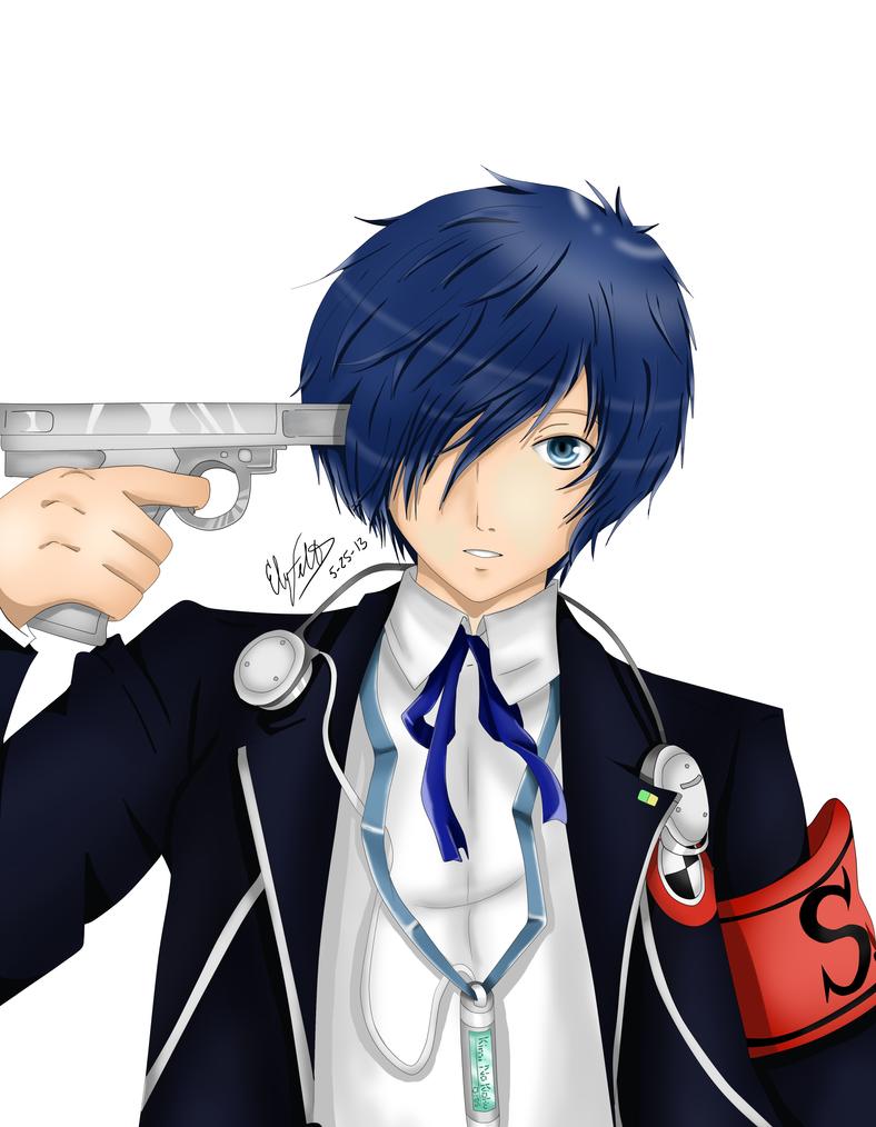 Persona 3: Makoto Yuki (Minato Arisato) by ElyFelt on DeviantArt Akihiko Persona