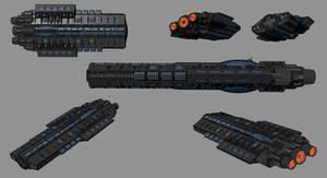 Savior-Class Battleship by madfox43