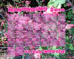 NaNoWriMo 2010 Wallpaper-Pink