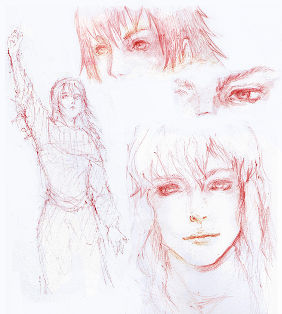 Berserk Sketches By Aim2 On DeviantArt