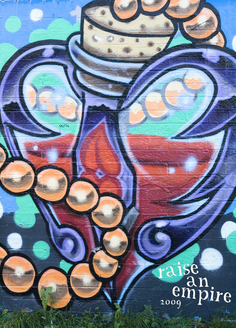 Heart Vial Graffiti by Raise-An-Empire