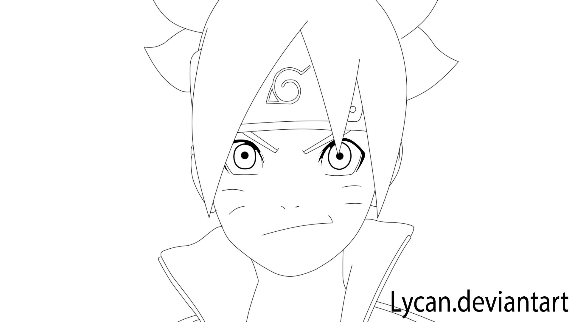 Boruto Coloring Pages