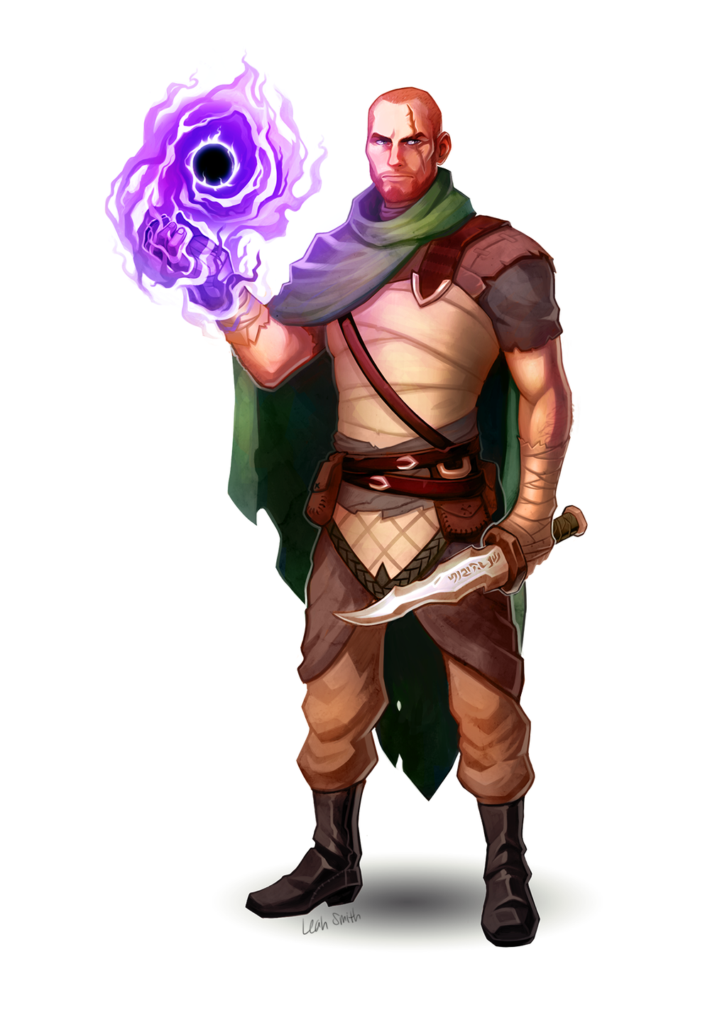 dungeons and dragons character commission by leahmsmith on deviantart