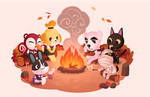 Animal Crossing Campfire