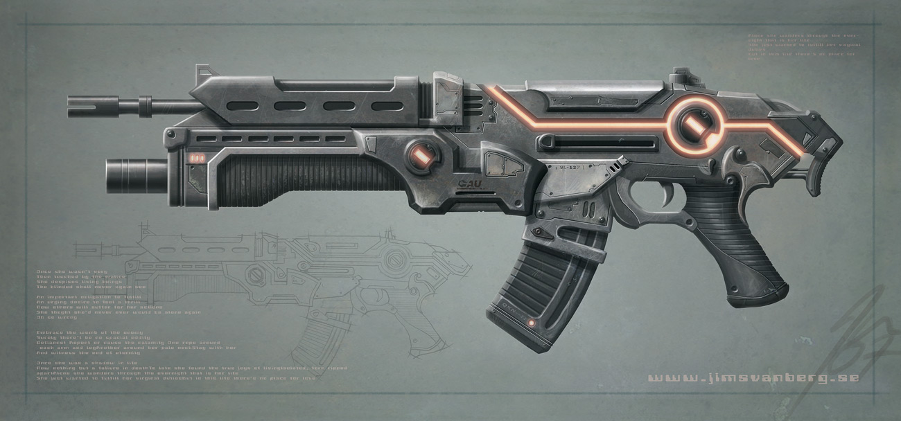 Digital Shadow Assault_rifle_by_jimsvanberg