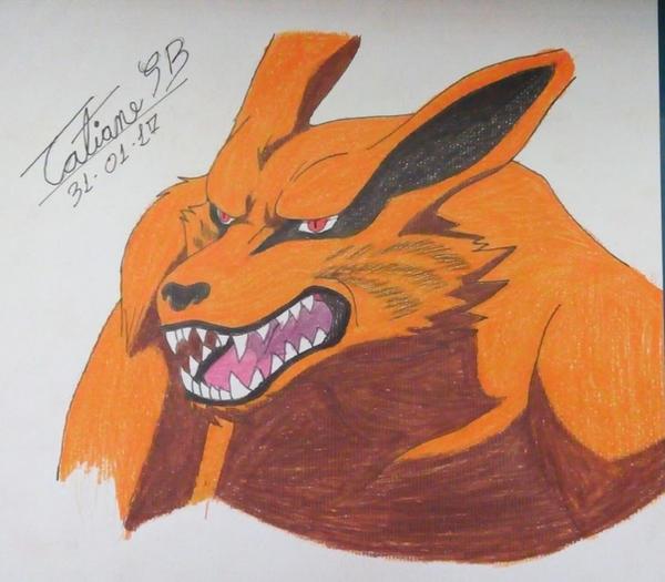 Kurama - Nine Tails - Kyuubi 2 by TatianeSB