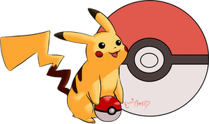 Pikachu by ellineko