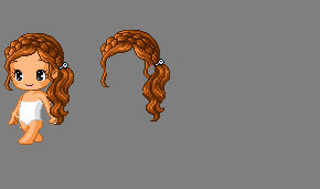 edited/recolored fantage hair