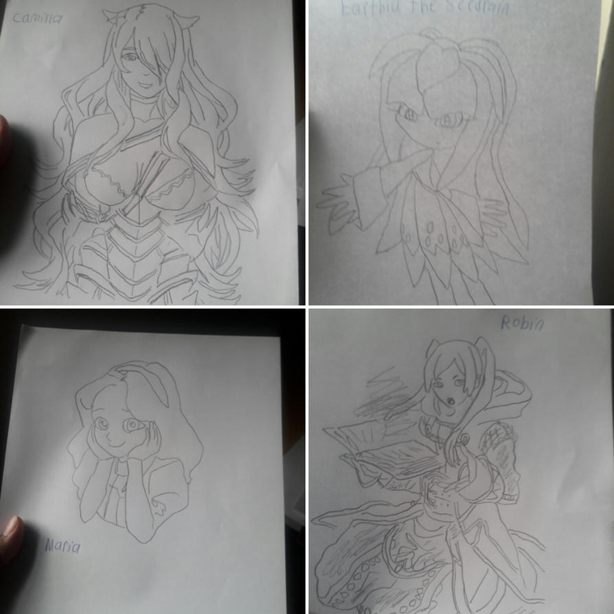 Femala Characters by bcfoster12