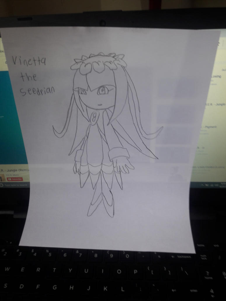 Vinetta the seedrian by bcfoster12