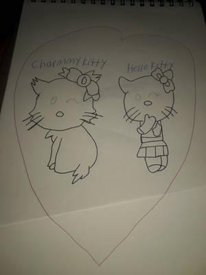 Charmmy kitty and Hello Kitty