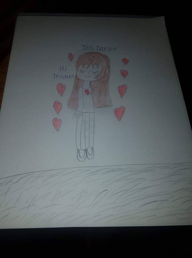 Tris say hello to Tristan