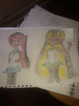 My oc cousin and Me
