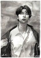 Day 36 Self Isolation - Lee Hangyul (Speedpaint!) by Aradiantha