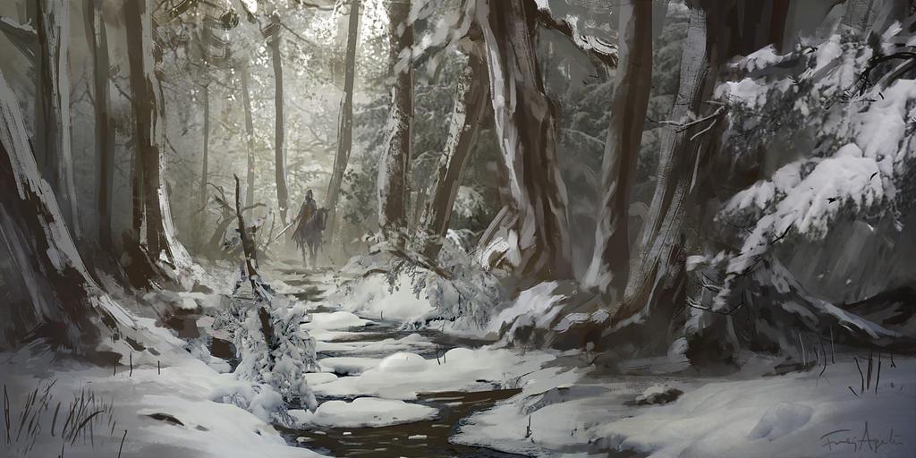 Winter Trot by FrejAgelii