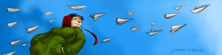Migration of the Paper Planes