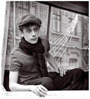 Portrait of the boy by Albert-Smirnov