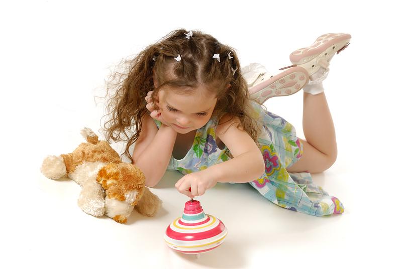 Portrait of the little girl 4