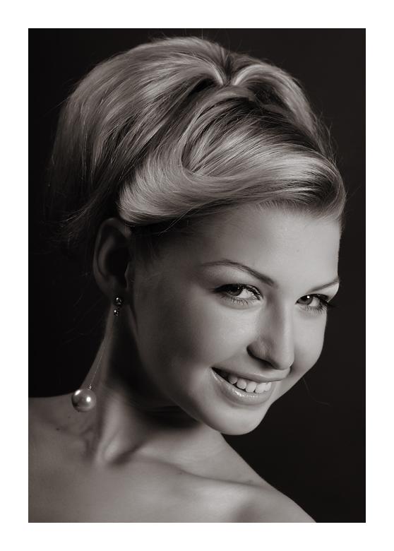 Classical female portrait 11 by Albert-Smirnov