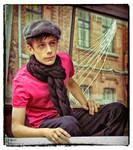 Portrait of the boy (color version)