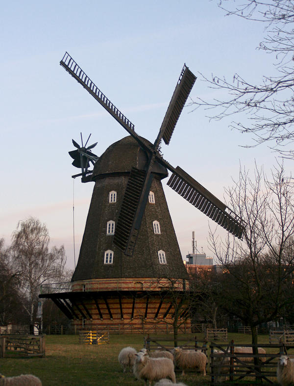 windmill 1 by Drezdany-stocks