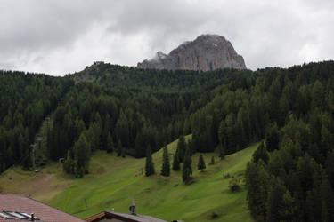 Wolkenstein Dolomites by Drezdany-stocks