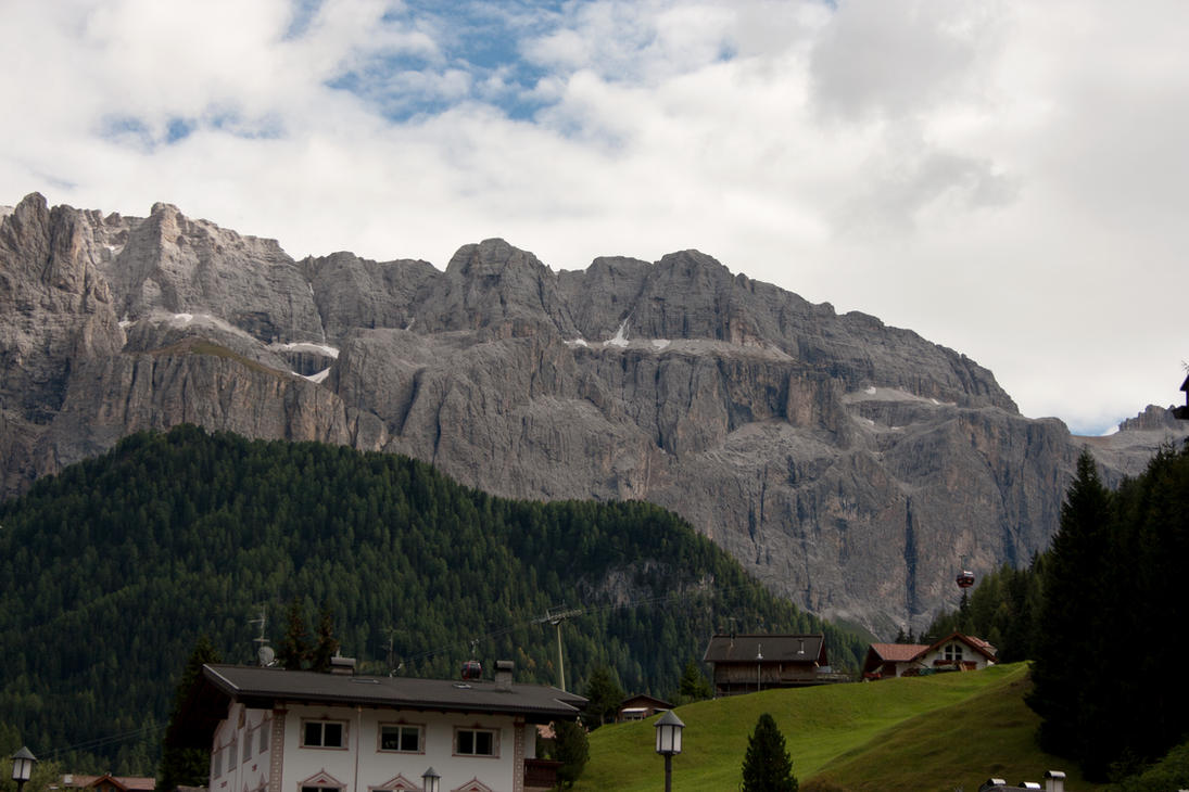 Wolkenstein Dolomites 2 by Drezdany-stocks