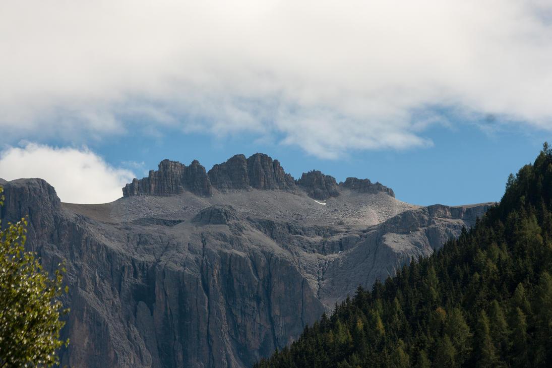Wolkenstein Dolomites 3 by Drezdany-stocks