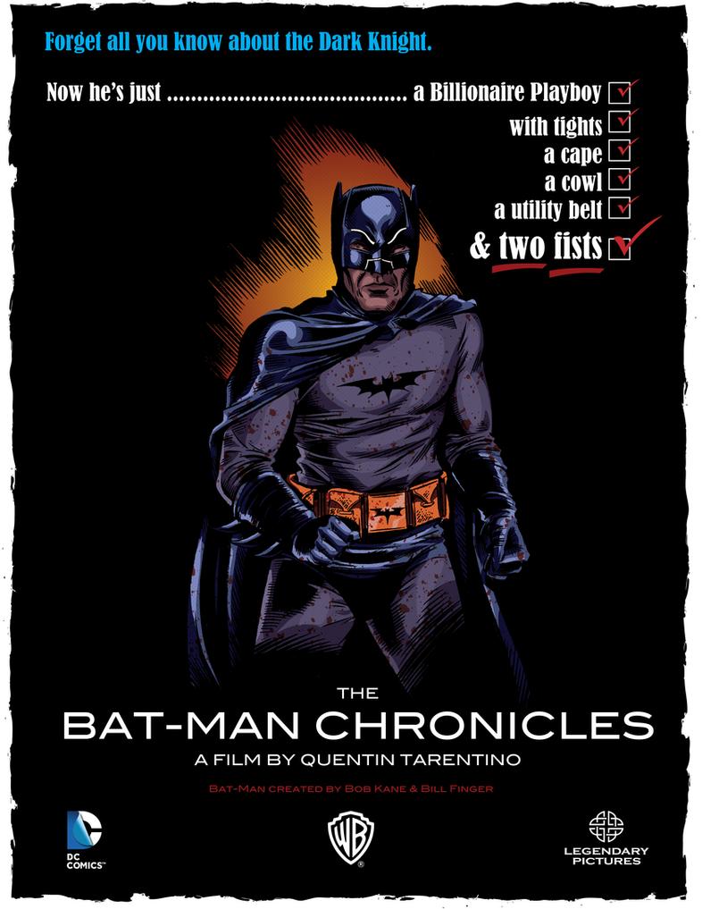 The Bat-Man Chronicles by LoranJSkinkis