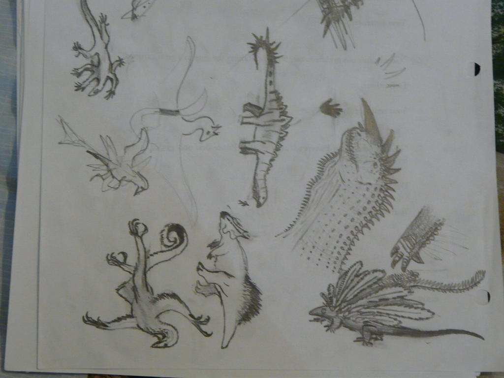 Spec Saturday - Mega'pagania Dinosaurs by SpeculaTimsauru5