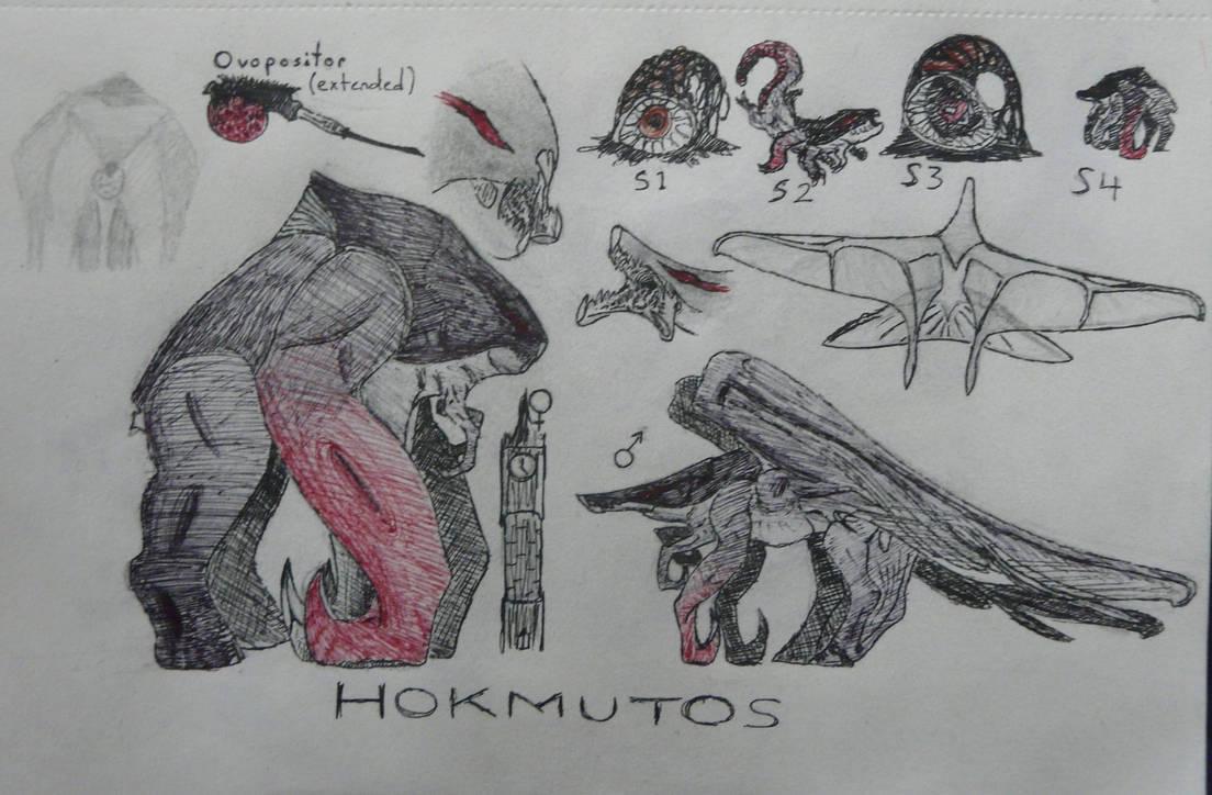 Monster Monday - Presenting the Hokmutos
