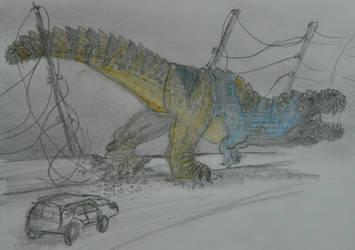 Dinovember(2019) Day 12 - ProtoceratopsNOT